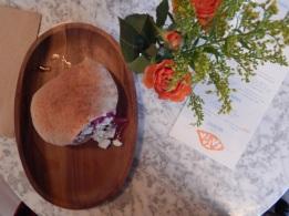 The drool-inducing sweet potato falafel at Batata in Brooklyn.